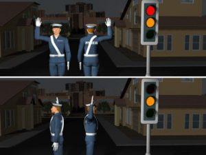 Sygnały dawane przez uprawnione osoby